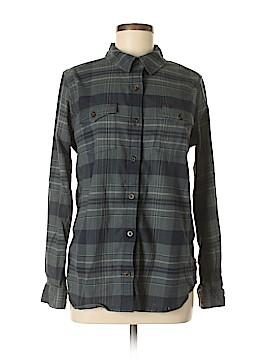 Carhartt Long Sleeve Button-Down Shirt Size 8