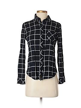 Renee C. Long Sleeve Button-Down Shirt Size XS