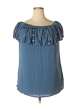 Knox Rose Short Sleeve Top Size XXL