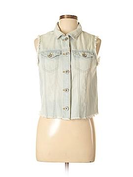 Highway Jeans Denim Vest Size L