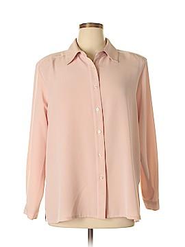 Draper's & Damon's Long Sleeve Blouse Size 16