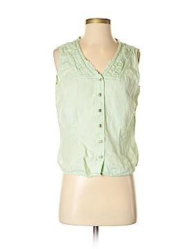 J.jill Sleeveless Button-Down Shirt Size S
