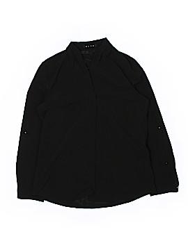 BLVD Long Sleeve Blouse Size L
