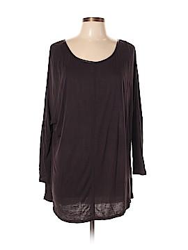 Joan Vass Long Sleeve Top Size XL