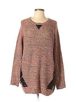 Xhilaration Silk Pullover Sweater Size XL