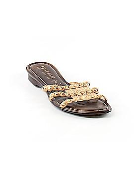 Italian Shoemakers Footwear Sandals Size 8