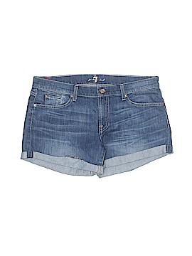 7 For All Mankind Denim Shorts 32 Waist