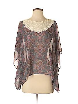 WallpapHER 3/4 Sleeve Blouse Size S