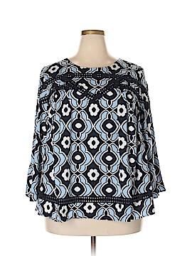 Crown & Ivy Long Sleeve Blouse Size 2X (Plus)