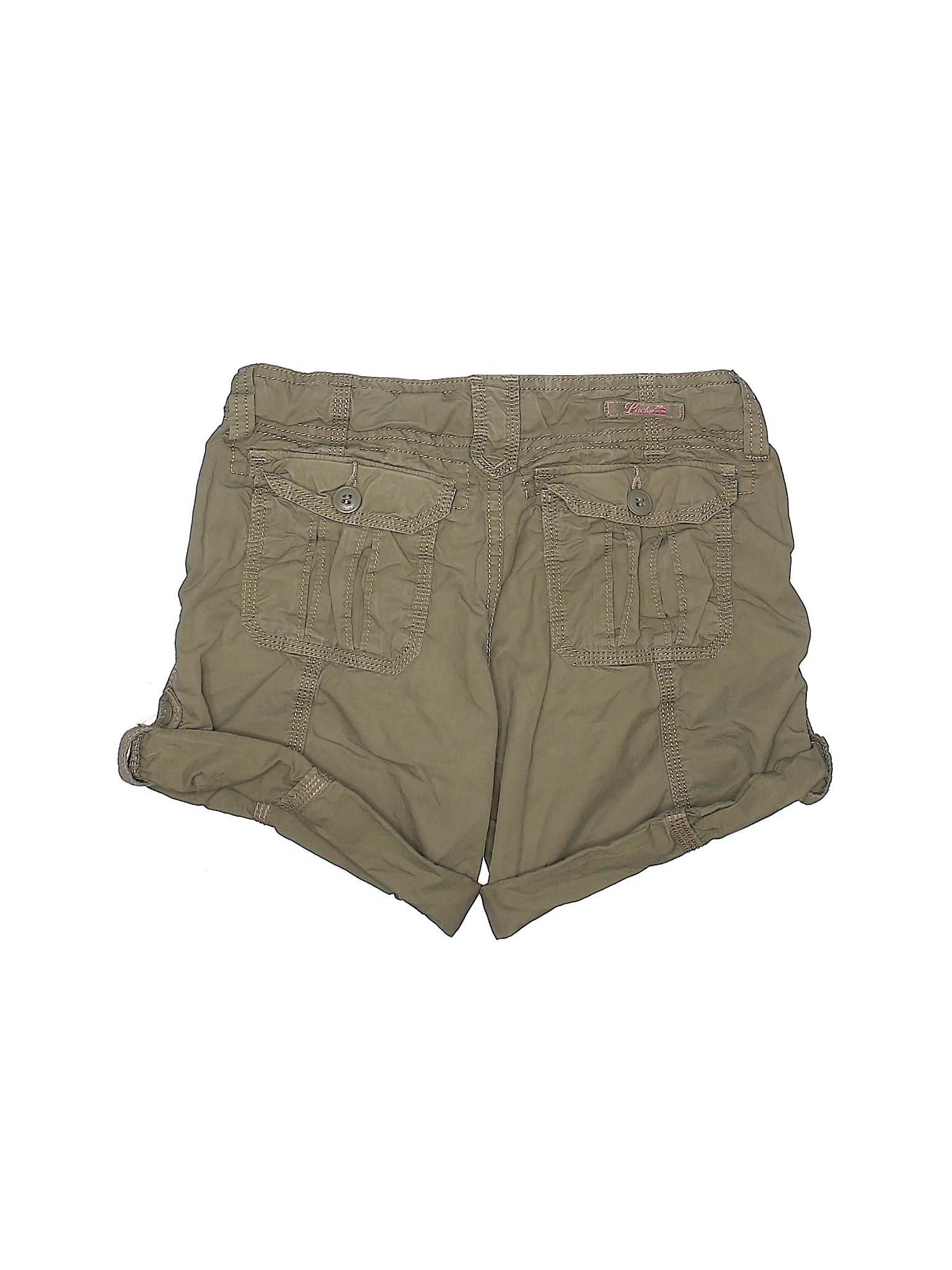 Boutique Khaki Khaki Boutique Lucky Lucky Shorts Lucky Shorts Boutique FqCSwarF