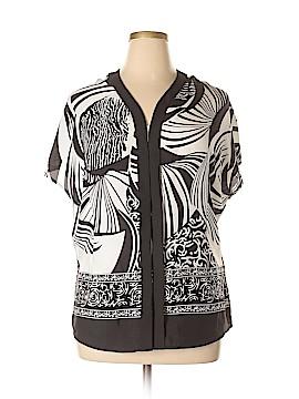 Milano Short Sleeve Blouse Size L