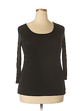 Mercer & Madison 3/4 Sleeve T-Shirt Size L