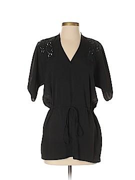 Aqua Short Sleeve Blouse Size XS