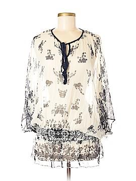 Da-Nang 3/4 Sleeve Silk Top Size M