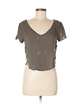 Alythea Short Sleeve Blouse Size M