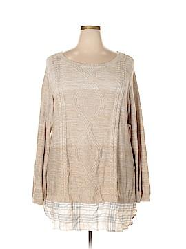 Avenue Pullover Sweater Size 26 (Plus)