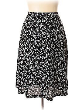 Leslie Fay Casual Skirt Size 24 Petite (Plus)