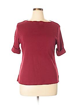 Karen Scott Short Sleeve Top Size XL (Petite)