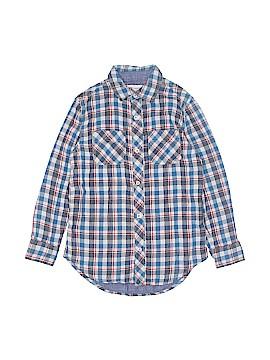 Tucker + Tate Long Sleeve Button-Down Shirt Size 8