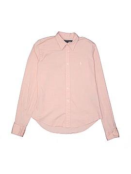 Ralph Lauren Sport Long Sleeve Button-Down Shirt Size S (Youth)