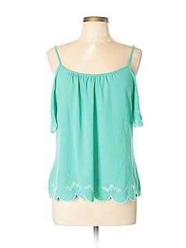 Soulmates Short Sleeve Blouse Size L