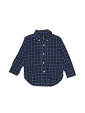 Baby Gap Long Sleeve Button-Down Shirt Size 2YRS