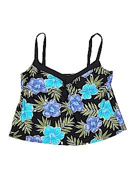 Delta Burke Swimsuit Top Size 18 (Plus)