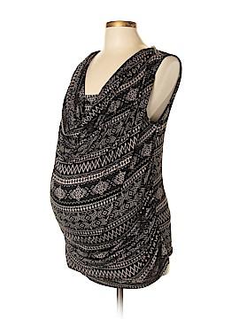Everly Grey Sleeveless Top Size XL (Maternity)