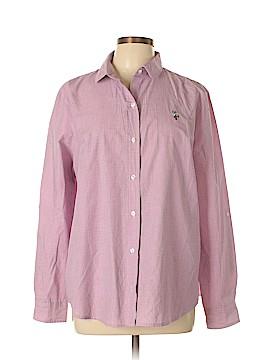 U.S. Polo Assn. 3/4 Sleeve Button-Down Shirt Size XL