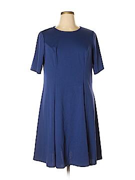Just Fab Casual Dress Size 1X (Plus)