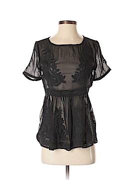 Aryn K. Short Sleeve Blouse Size XS