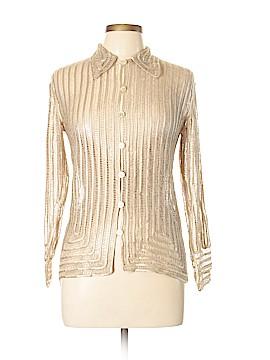 Nima Long Sleeve Silk Top Size L