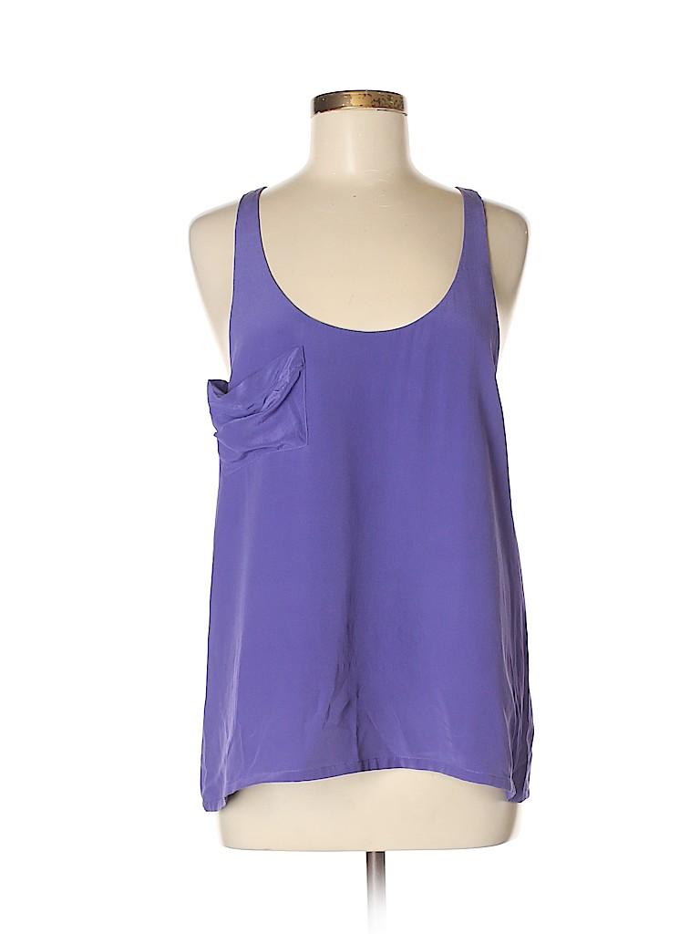 Patterson J. Kincaid Women Sleeveless Silk Top Size M