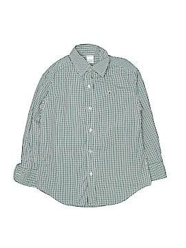 Crewcuts Long Sleeve Button-Down Shirt Size 7