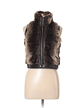 Sugarfly Faux Fur Vest Size L