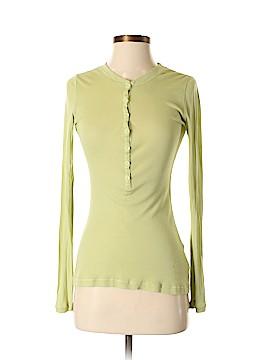 Rebecca Beeson Long Sleeve Henley Size Sm (1)