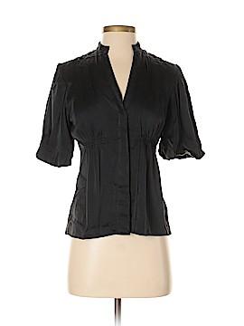 BCBGMAXAZRIA Short Sleeve Silk Top Size XXS