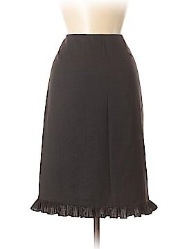 RENA LANGE Wool Skirt Size 6