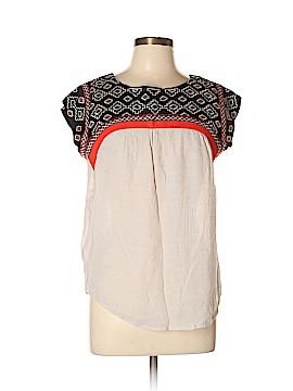 THML Short Sleeve Blouse Size L