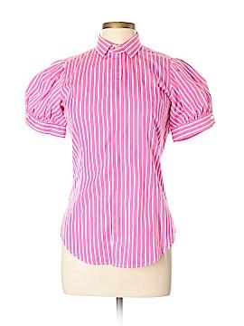 Ralph Lauren Short Sleeve Button-Down Shirt Size 10