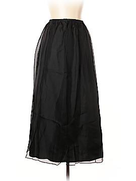 Casual Corner Silk Skirt Size 12