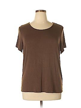 ING Short Sleeve T-Shirt Size 1X (Plus)