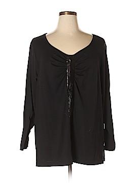 Silhoutte Long Sleeve Top Size 1X (Plus)