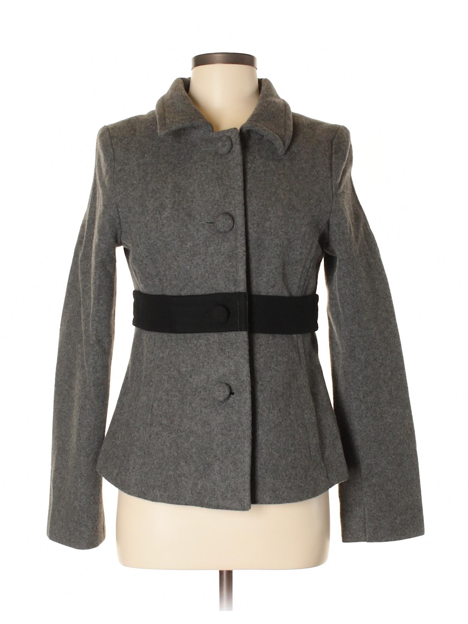 Wool Boutique Coat Old winter Navy arnZrtFxw