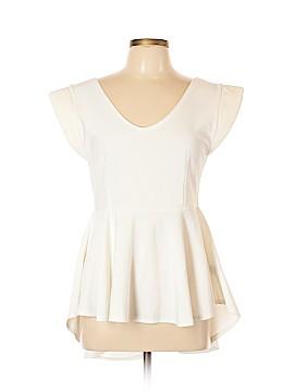 Boohoo Boutique Short Sleeve Blouse Size 10