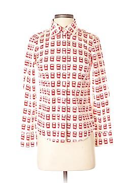 Boden Long Sleeve Button-Down Shirt Size 6 (Petite)
