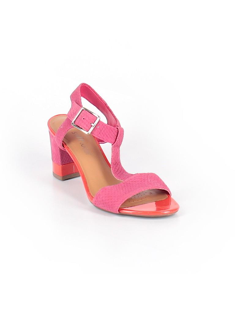 3afe1d234653 Clarks Color Block Pink Heels Size 4 - 85% off