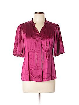 Nine West Short Sleeve Silk Top Size 6