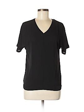 Lands' End Short Sleeve Blouse Size M