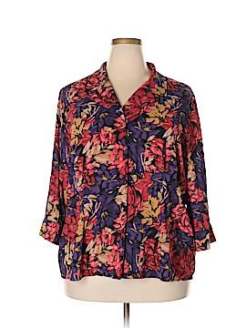 Covington 3/4 Sleeve Blouse Size 20 (Plus)